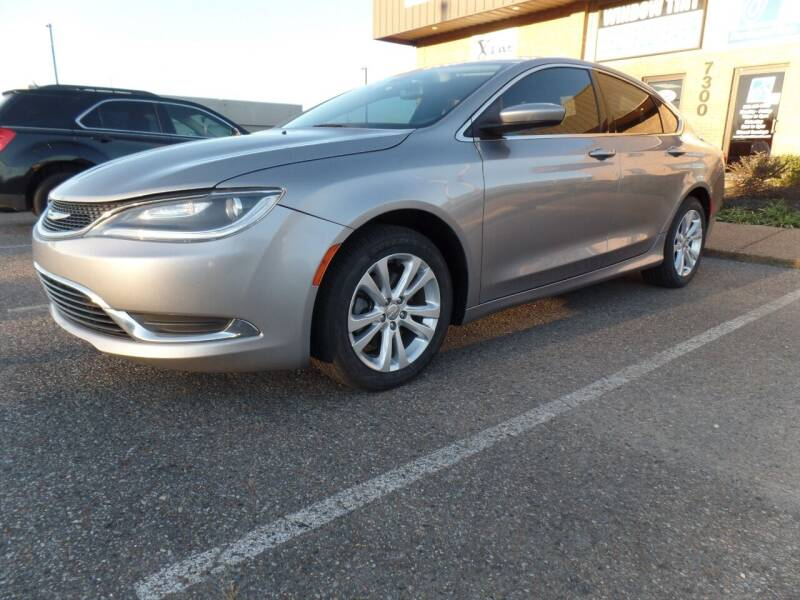 2015 Chrysler 200 for sale at Flywheel Motors, llc. in Olive Branch MS