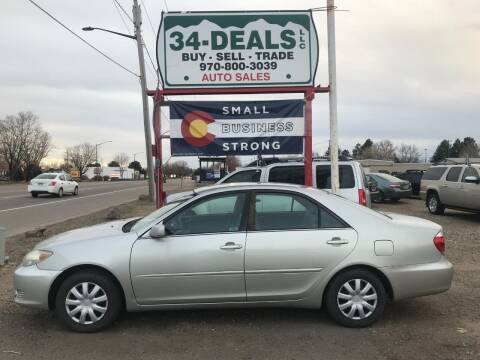 2005 Toyota Camry for sale at 34 Deals LLC in Loveland CO