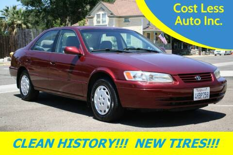 1999 Toyota Camry for sale at Cost Less Auto Inc. in Rocklin CA