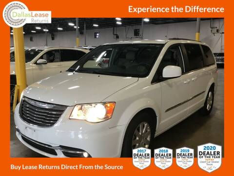 2016 Chrysler Town and Country for sale at Dallas Auto Finance in Dallas TX