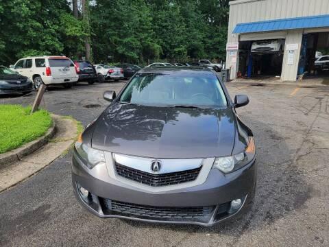 2009 Acura TSX for sale at BRAVA AUTO BROKERS LLC in Clarkston GA