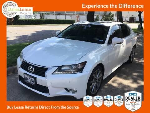 2014 Lexus GS 350 for sale at Dallas Auto Finance in Dallas TX