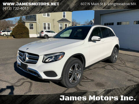 2018 Mercedes-Benz GLC for sale at James Motors Inc. in East Longmeadow MA