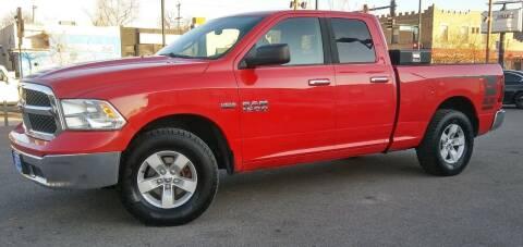 2013 RAM Ram Pickup 1500 for sale at Unlimited Motors, LLC in Denver CO