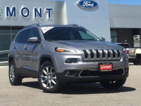 2018 Jeep Cherokee for sale at Rocky Mountain Commercial Trucks in Casper WY
