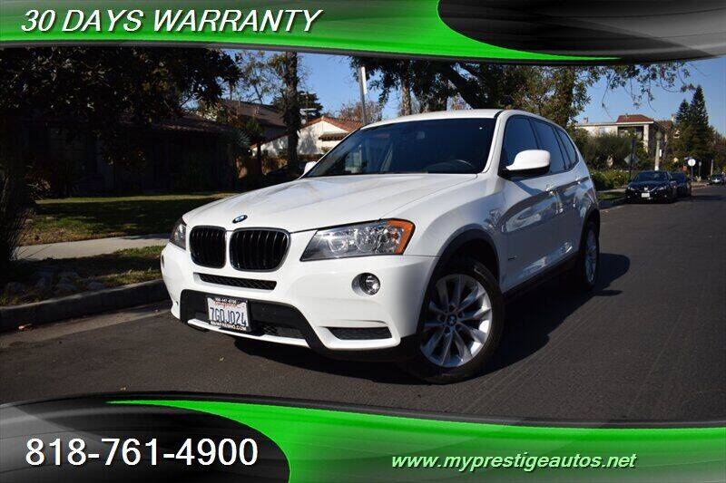 2013 BMW X3 for sale at Prestige Auto Sports Inc in North Hollywood CA