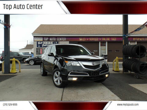 2010 Acura MDX for sale at Top Auto Center in Quakertown PA
