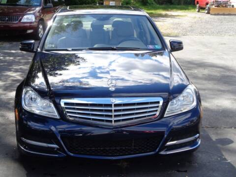 2012 Mercedes-Benz C-Class for sale at MAIN STREET MOTORS in Norristown PA