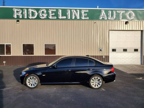 2011 BMW 3 Series for sale at RIDGELINE AUTO in Chubbuck ID