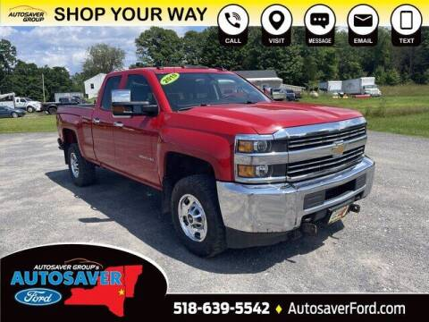 2015 Chevrolet Silverado 2500HD for sale at Autosaver Ford in Comstock NY