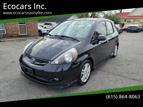 2007 Honda Fit for sale at Ecocars Inc. in Nashville TN