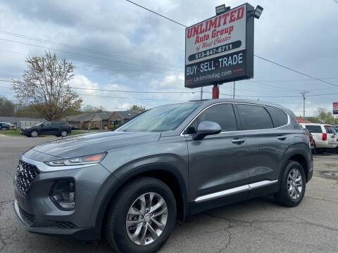 2019 Hyundai Santa Fe for sale at Unlimited Auto Group in West Chester OH