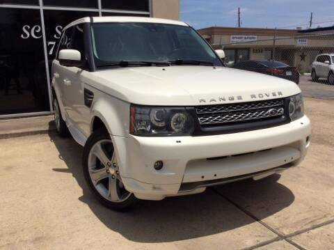 2010 Land Rover Range Rover Sport for sale at SC SALES INC in Houston TX