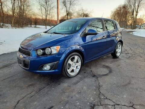 2014 Chevrolet Sonic for sale at Moundbuilders Motor Group in Heath OH
