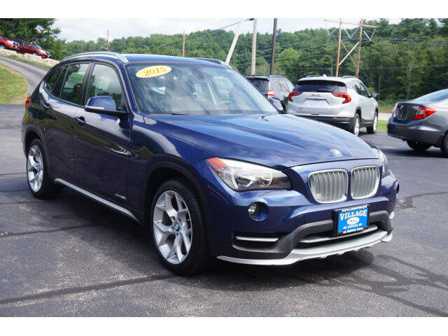 2015 BMW X1 for sale at VILLAGE MOTORS in South Berwick ME