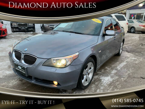 2007 BMW 5 Series for sale at Diamond Auto Sales in Milwaukee WI