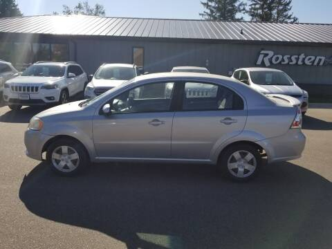2009 Chevrolet Aveo for sale at ROSSTEN AUTO SALES in Grand Forks ND