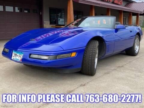 1995 Chevrolet Corvette for sale at Affordable Auto Sales in Cambridge MN