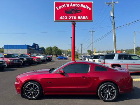 2014 Ford Mustang for sale at Ford's Auto Sales in Kingsport TN