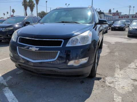 2012 Chevrolet Traverse for sale at Best Deal Auto Sales in Stockton CA