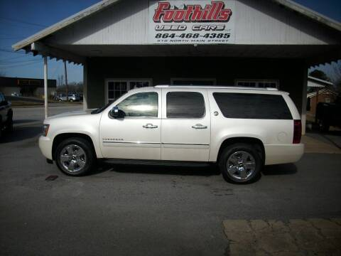2010 Chevrolet Suburban for sale at Foothills Used Cars LLC in Campobello SC