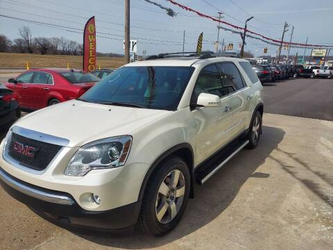 2011 GMC Acadia for sale at MARIETTA MOTORS LLC in Marietta OH