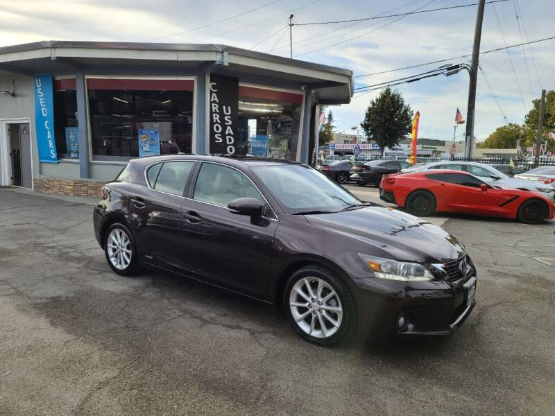 2012 Lexus CT 200h for sale at Imports Auto Sales & Service in San Leandro CA