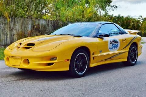 2002 Pontiac Trans Am for sale at Classic Car Deals in Cadillac MI