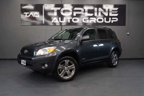 2009 Toyota RAV4 for sale at TOPLINE AUTO GROUP in Kent WA