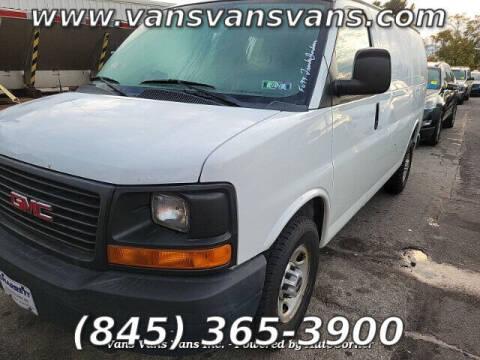2010 GMC Savana Cargo for sale at Vans Vans Vans INC in Blauvelt NY
