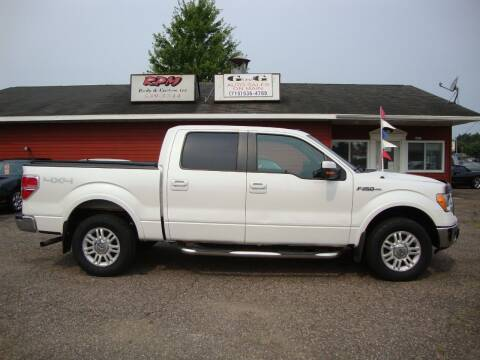 2010 Ford F-150 for sale at G and G AUTO SALES in Merrill WI