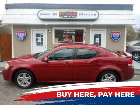2010 Dodge Avenger for sale at BIG DADDY'S  A.L.D. in Winston Salem NC