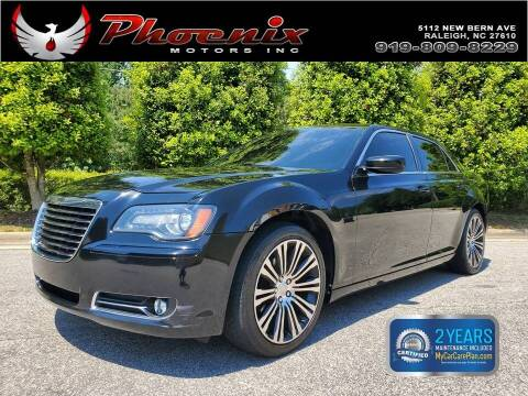 2013 Chrysler 300 for sale at Phoenix Motors Inc in Raleigh NC