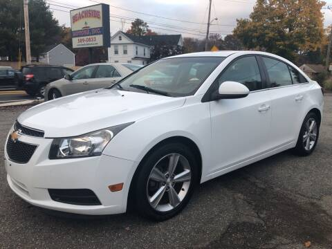 2013 Chevrolet Cruze for sale at Beachside Motors, Inc. in Ludlow MA