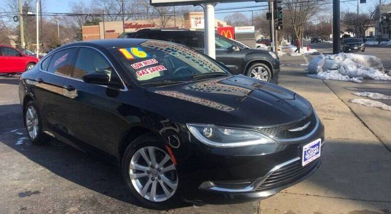 2016 Chrysler 200 for sale at Gonzalez Auto Sales in Joliet IL