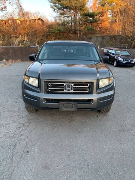 2008 Honda Ridgeline for sale at ALAN SCOTT AUTO REPAIR in Brattleboro VT