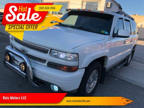 2003 Chevrolet Suburban for sale at Reis Motors LLC in Lawrence NY