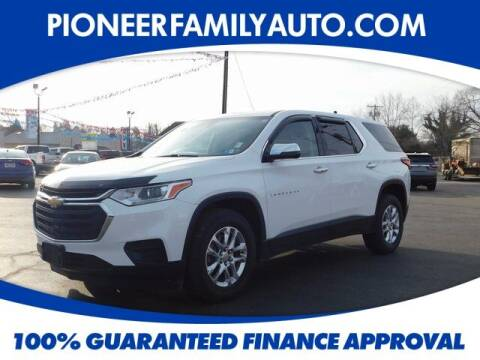 2018 Chevrolet Traverse for sale at Pioneer Family auto in Marietta OH