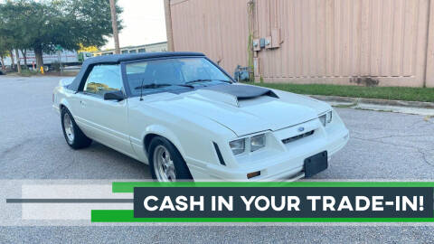 1984 Ford Mustang for sale at Horizon Auto Sales in Raleigh NC