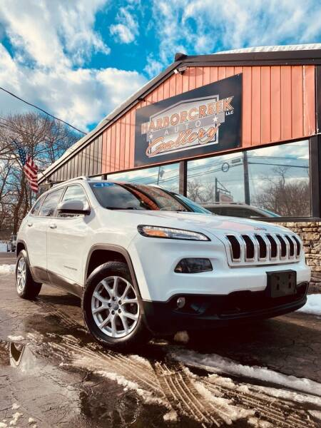 2015 Jeep Cherokee for sale at Harborcreek Auto Gallery in Harborcreek PA