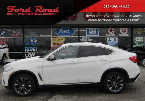 2015 BMW X6 for sale at Ford Road Motor Sales in Dearborn MI