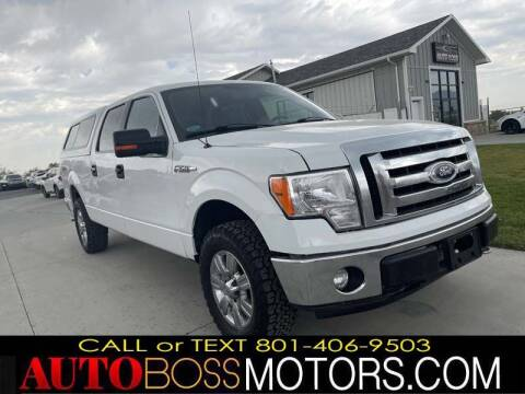 2012 Ford F-150 for sale at Auto Boss in Woods Cross UT