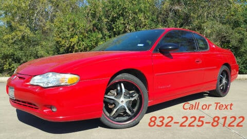 2005 Chevrolet Monte Carlo for sale at Houston Auto Preowned in Houston TX