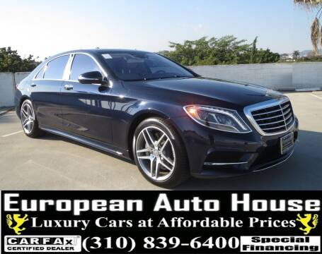 2014 Mercedes-Benz S-Class for sale at European Auto House in Los Angeles CA