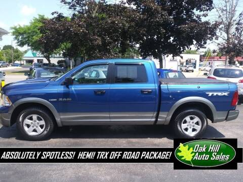 2009 Dodge Ram Pickup 1500 for sale at Oak Hill Auto Sales of Wooster, LLC in Wooster OH