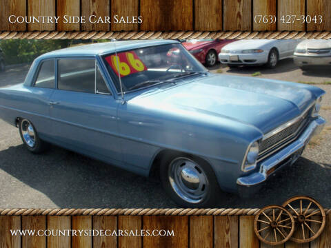 1966 Chevrolet Nova for sale at Country Side Car Sales in Elk River MN
