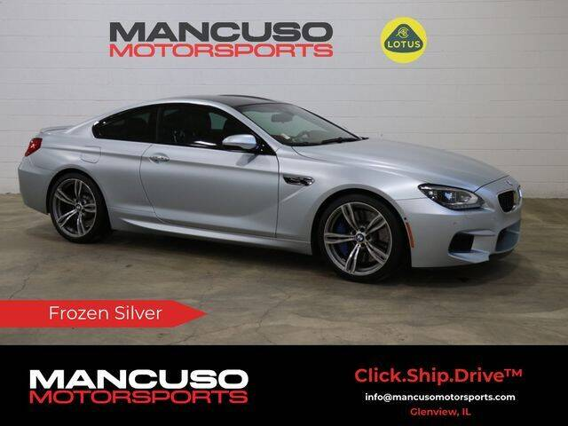 2014 BMW M6 for sale at Mancuso Motorsports in Glenview IL