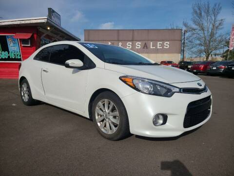 2015 Kia Forte Koup for sale at Universal Auto Sales in Salem OR