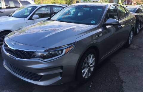 2017 Kia Optima for sale at MELILLO MOTORS INC in North Haven CT