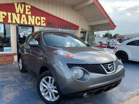2013 Nissan JUKE for sale at Caspian Auto Sales in Oklahoma City OK